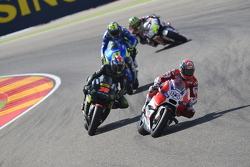 Andrea Dovizioso, Ducati Team and Bradley Smith, Tech 3 Yamaha and Aleix Espargaro, Team Suzuki MotoGP and Cal Crutchlow, Team LCR Honda