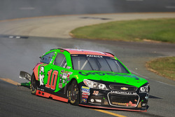 Crashed car of Danica Patrick, Stewart-Haas Racing Chevrolet