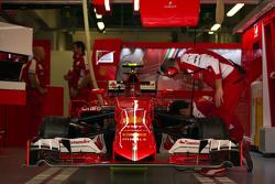 The Ferrari SF15-T of Kimi Raikkonen, Ferrari