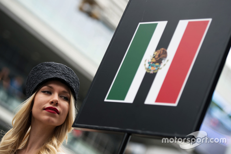 Chica de la parrilla para Sergio Pérez, Sahara Force India F1