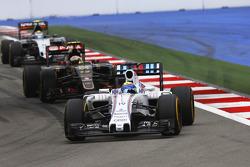 Felipe Massa, Williams and Pastor Maldonado, Lotus F1