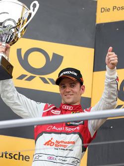 Podium: 2de Jamie Green, Audi Sport Team Rosberg Audi RS 5 DTM