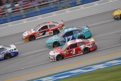 Kevin Harvick, Stewart-Haas Racing Chevrolet and Ricky Stenhouse Jr., Roush Fenway Racing Ford and Alex Bowman, Tommy Baldwin Racing Chevrolet