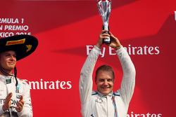 Podium: Third place Valtteri Bottas, Williams