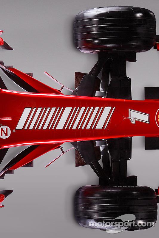 Detail of the new Ferrari F2008