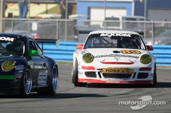 #89 Farnbacher Loles Motorsports Porsche GT3 Cup: Luca Drudi, Giorgio Rosa, Gabrio Rosa, Jorg Hardt, Giacomo Petrobelli