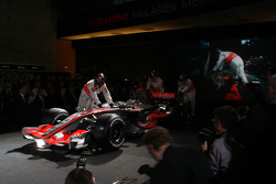 The new McLaren Mercedes MP4-23 is presented