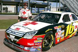 Greg Biffle sports special paint job