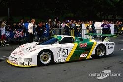 #151 Pierre Alain Lombardi Spice SE 87 C Ford: Pierre-Alain Lombardi, Bruno Sotty, Fabio Magnani