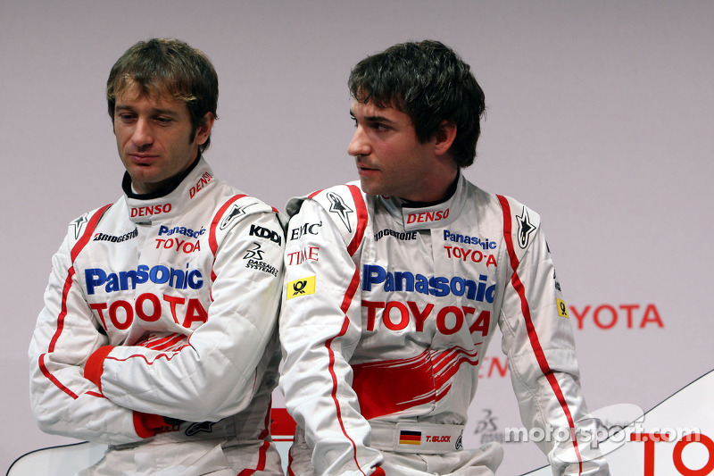 Jarno Trulli and Timo Glock