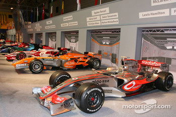 Pit lane display, In 2007 constructors finishing order