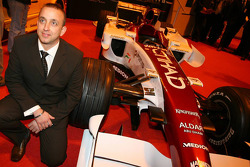 The unveiling of the Force India F1 Car, Simon Shinkins, head of Production at Force India