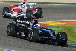 Nico Rosberg, WilliamsF1 Team, FW30, Jarno Trulli, Toyota F1 Team, TF108