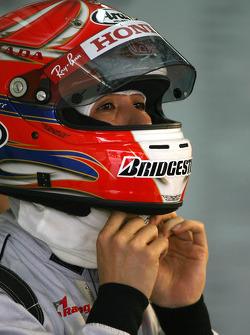 Takashi Kogure, Test Driver, Honda Racing F1 Team