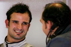 Vitantonio Liuzzi, Test Driver, Force India F1 Team, Dr Colin Kolles Force India Team Principal