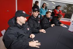 Jon Fogarty, Alex Gurney, Jimmie Johnson, Jimmy Vasser