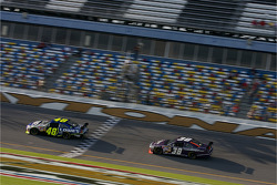 Jimmie Johnson and David Gilliland