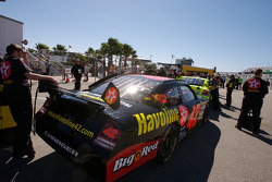 Texaco Havoline Dodge in the technical inspection line