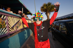 Mardi Gras celebrations in nearby New Smyrna Beach