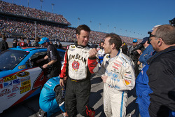 Robby Gordon and Jacques Villeneuve