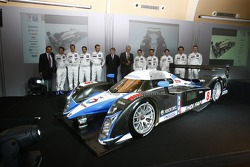 The 2008 Peugeot 908 is unveiled