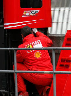 Ferrari mechanic