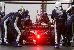 Nico Rosberg, Williams F1 Team, FW30 practce pitstop