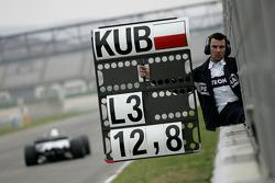 Robert Kubica, BMW Sauber F1 Team, F1.08