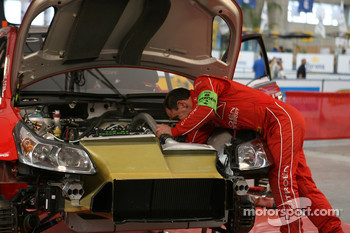 Citroen Total World Rally Team replaces Loeb engine