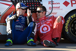 Jimmie Johnson and Dario Franchitti