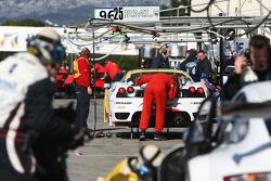 Virgo Motorsport pit area