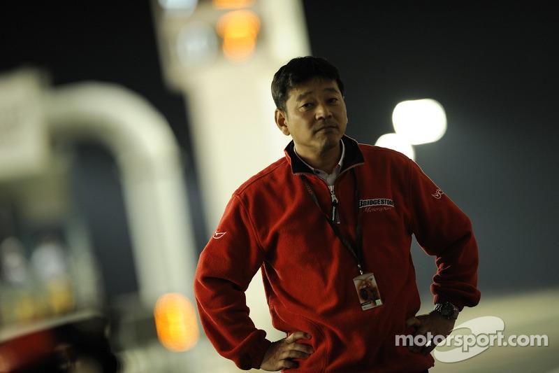 Hiroshi Yamada Manager of Bridgestone Motorcycle Sport