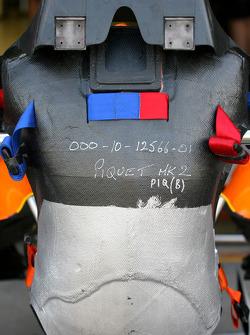 Nelson A. Piquet, Renault F1 Team, race seat
