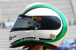 Davide Rigon, driver of A1 Team Italy helmet