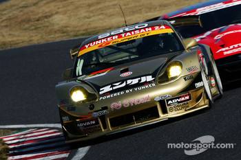#26 Yunker Power Taisan Porsche: Nobuteru Taniguchi, Shinichi Yamaji