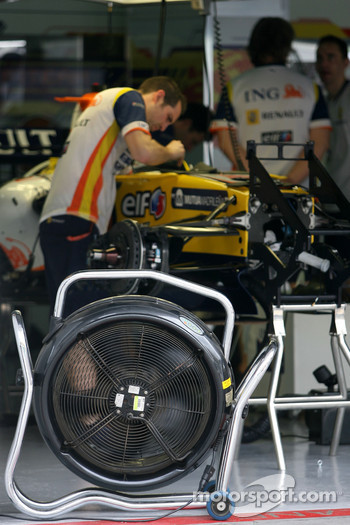 Team Renault atmosphere