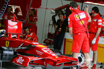 Jean Todt, Scuderia Ferrari, Special Appointments, in the Ferrari garage