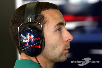 Nicolas Todt, Manager of Felipe Massa in the TORO ROSSO garage