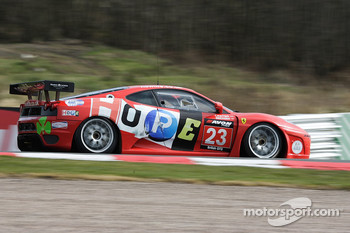 GT3 Ferrari 430: Hector Lester and Allan Simonsen
