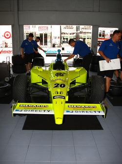 Vision Racing team members at work