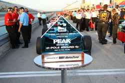 Pole Award trophy