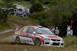 Sebastian Beltran and Ricardo Rojas, Mitsubishi Lancer Evolution IX
