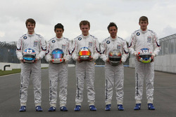 Formula BMW Europe 2008, Junior Drivers Group Picture