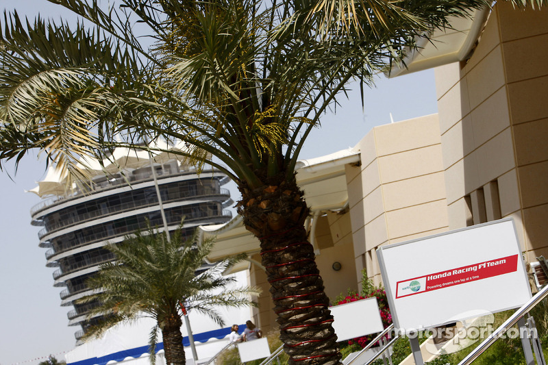 Bahrain International Circuit paddock