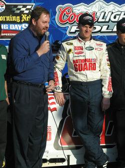Eddie Gossage and Dale Earnhardt Jr.