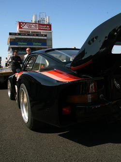 Vintage Porsche 911 K3 in the paddock