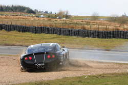 GT4 Ginetta G50 off at John R Weir Chicane
