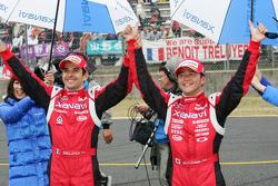 GT500 winners Satoshi Motoyama, Benoit Treluyer