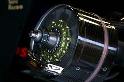 Toro Rosso STR03 brake system detail