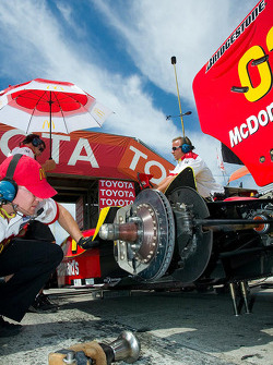 Champ Car rear brake detail
